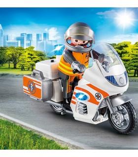 Motocicleta De Urgenta Cu Lumini