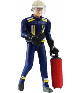 Pompier Cu Extinctor