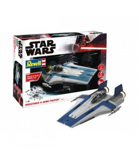 Resistance A-wing Fighter, blue, Build & Play