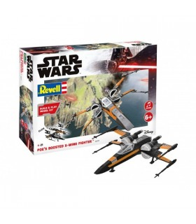 Poe's Boosted X-wing Fighter, Build & Play