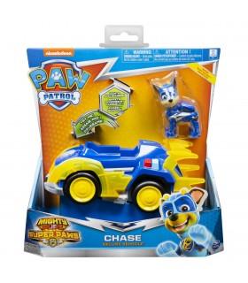 Super Eroul Chase Cu Masina De Politie