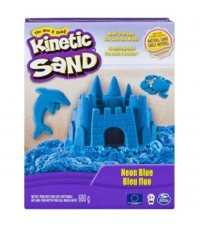 Kinetic Sand Deluxe, Albastru Neon 680gr.
