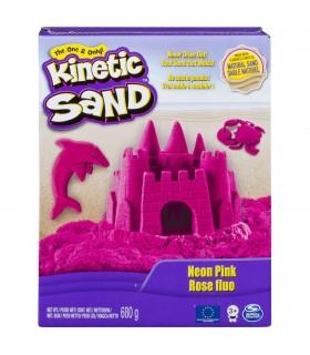 Kinetic Sand Deluxe, Roz Neon 680gr.