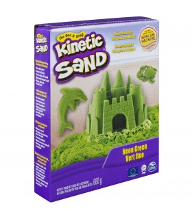 Kinetic Sand Deluxe, Verde Neon 680gr.