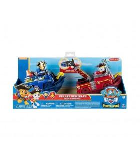 Patrula Catelusilor Set 2 Vehicule Si Figurine