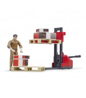 Set Figurina Cu Accesorii Logistica UPS