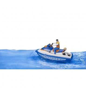 Jet Ski Cu Figurina Barbat