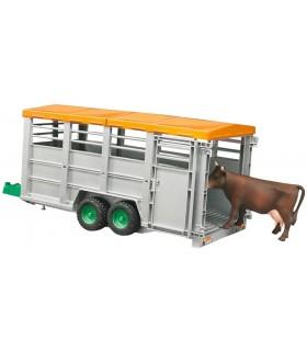 Remorca Transport Animale Cu O Vaca