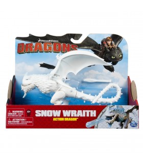 Dragon In Actiune Snow Wraith