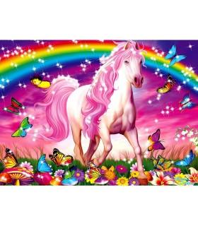 Unicorn Si Curcubeu, 100 Piese