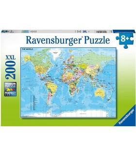 Harta Lumii, 200 Piese
