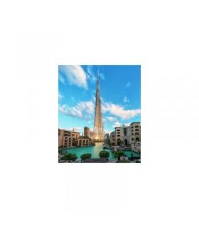 Burj Khalifa Dubai, 500 Piese