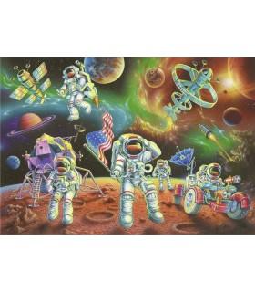 Astronauti Pe Luna, 35 Piese
