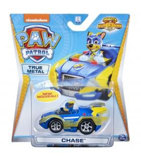 Chase Supererou Cu Masina De Politie