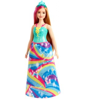 Barbie Printesa Cu Coronita Albastra