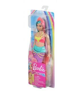 Barbie Sirena Cu Coronita Roz Deschis