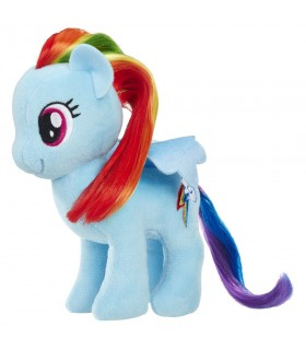 Rainbow Dash Cu Par Pentru A Fi Pieptanat