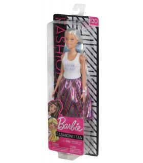 Barbie Cu Maieu Alb