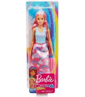 Barbie Printesa Cu Rochita Curcubeu