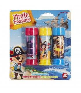 Set Pirati 3 Tuburi Baloane De Sapun