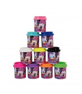 Set 10 Cutii Cu Plastilina Minnie