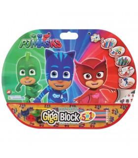 5In1 Gigablock Eroi In Pijamale