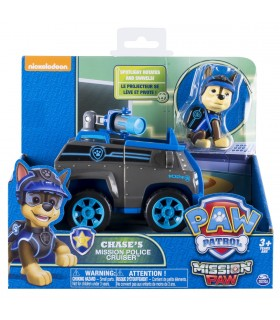 Masina De Politie Cu Figurina Chase