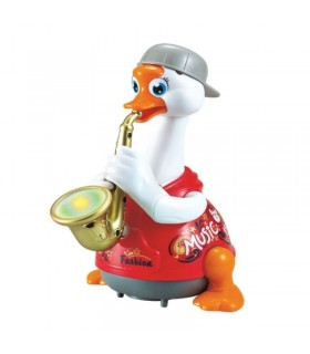 Ratoiul Interactiv Rosu Cu Saxofon