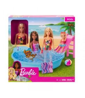 Barbie Cu Piscina