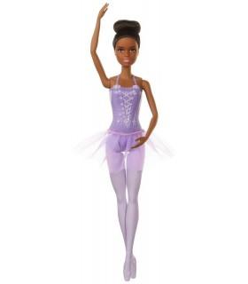 Barbie Balerina Creola Cu Costum Lila