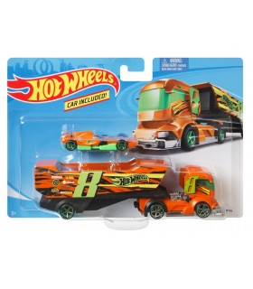 Set Camion Si Masina Sport Big Rig Heat
