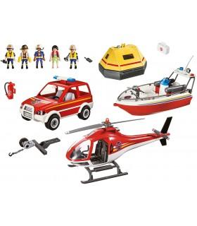Misiunea De Salvare A Pompierilor