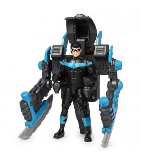 Nightwing Cu Mega Accesorii Pentru Lupta