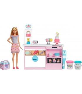 Set Atelier Cofetarie Si Papusa Barbie