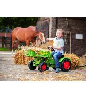 Tractor Cu Pedale Fendt Platforma Si Claxon