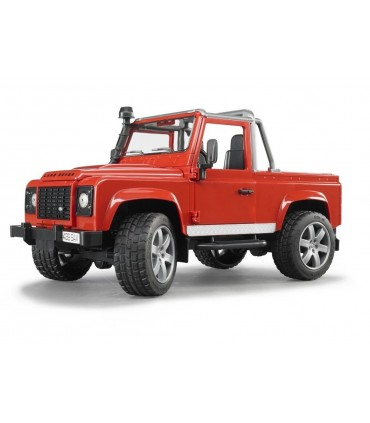 Masina De Teren Land Rover Defender Pick Up (rosu)