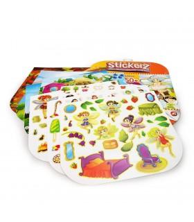 Set 150 De Autocolante Stickerz Reutilizabile Cu Zane