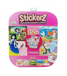 Set 150 De Autocolante Stickerz Reutilizabile Printese