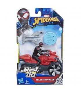 ATV-ul Lui Spiderman Cu Figurina Si Lansator