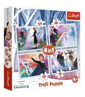 Frozen2 Padurea Magica, 4In1