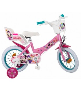 Bicicleta 14 inch, Minnie Mouse Club House