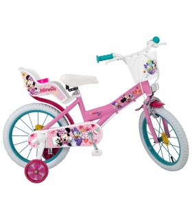 Bicicleta Minnie Mouse, 16 inch