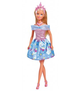 Steffi Fantasy Princess Cu Rochita Bleu