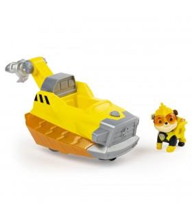 Vehicul Cu Figurina Rubble Sunete Si Lumini