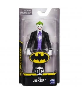 Joker Cu Costum Negru Si Manusi Albe