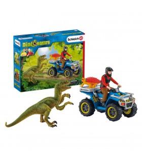 Fuga De Velociraptor Cu ATV-ul
