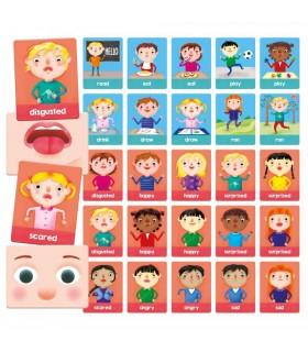 Montessori - Carti Emotii Si Actiuni