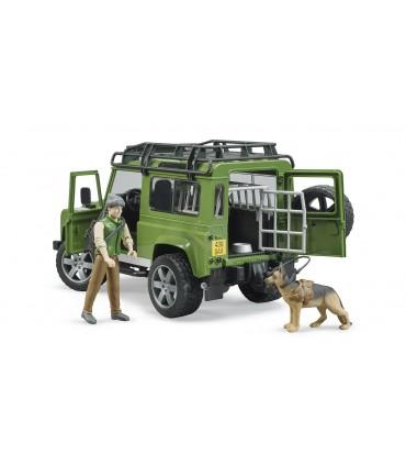 Land Rover Defender Station Wagon Cu Padurar Si Caine