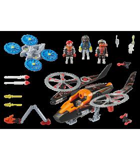 Elicopterul Piratilor Galactici