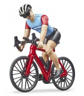 Ciclist Cu Bicicleta De Curse
